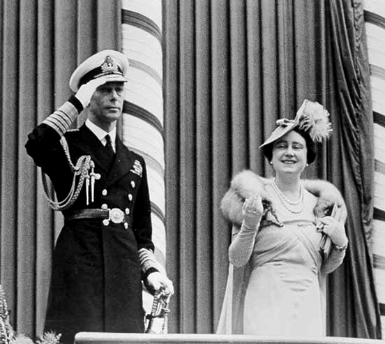 King George VI and Queen Elizabeth 1939 Royal Tour of Canada.trimmed
