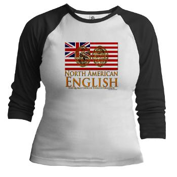 north american english seal womans.shirt